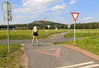 Přejezd silnice