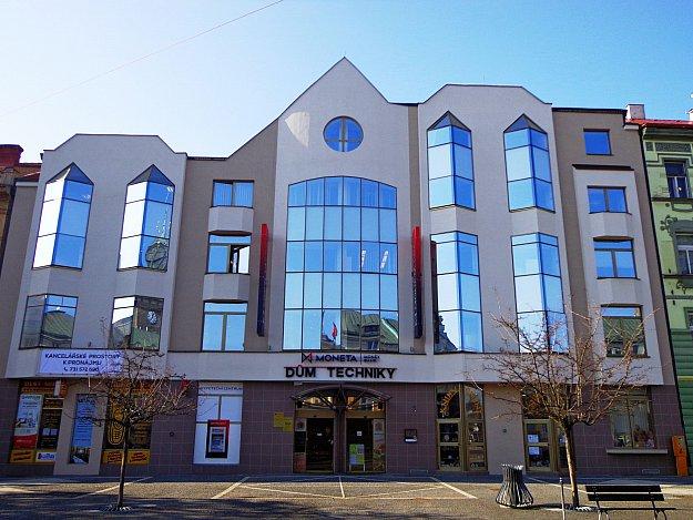 budova Domu techniky Pardubice