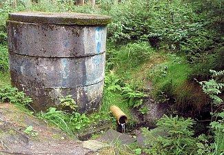 Perlivá - studna