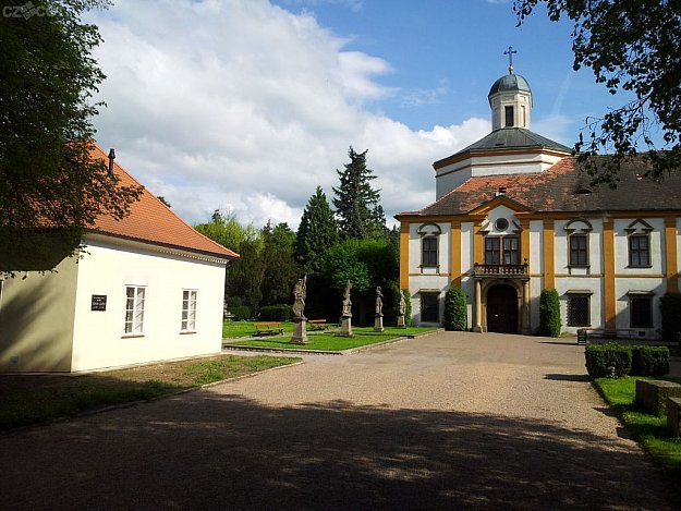 Choltice - chateau, museum exhibit, and Chapel of St. Romedio