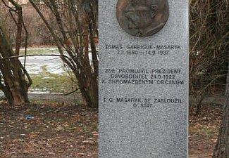 Pomník T. G. Masaryka